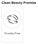 Seal indicating product is cruelty free